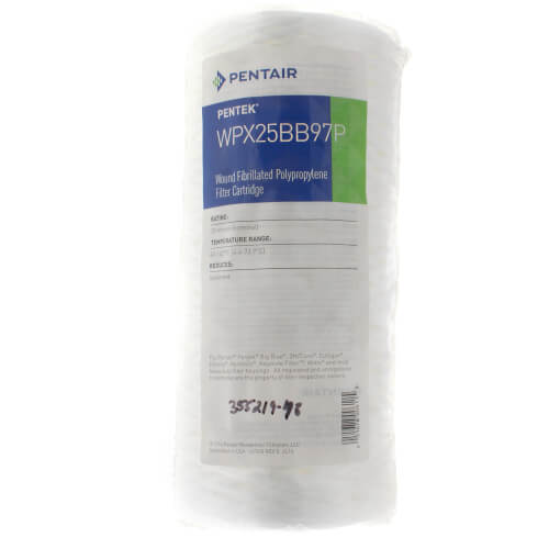 WPX25BB97P, Fibrillated String-Wound Polypropylene Sediment Filter Cartridge (25 Microns) Product Image