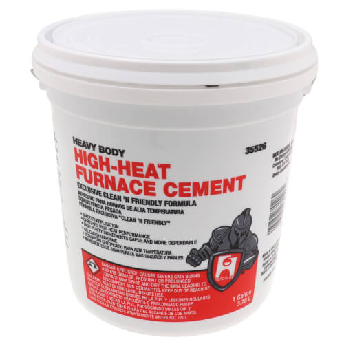1 gal. Heavy Body Furnace Cement Product Image