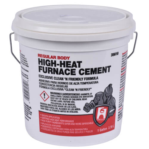 1 gal. Regular Body Furnace Cement Product Image