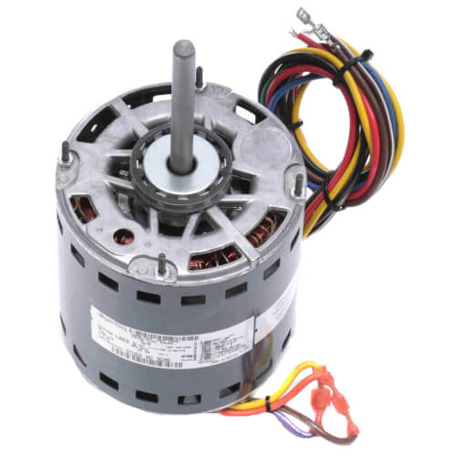 """5-1/2"""" 2 Speed Direct Drive Furnace & Central A/C Motor 1 HP, 1075 RPM (208-230V) Product Image"""