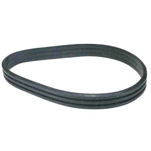 """3 Groove Cast Iron Sheave, 11.8"""" OD Product Image"""