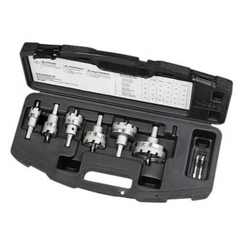 TKO 6-Piece Carbide Tipped Hole Cutter Master Electrician's Kit Product Image