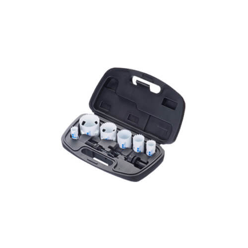 8 Piece Electrician's Hole Saw Kit Product Image