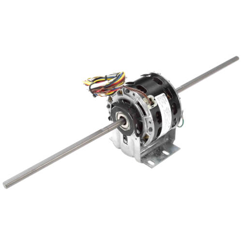 1/10-1/15-1/25-1/35 HP 115v 4 Speed Fan Coil and Room Air Conditioner Motor, 1075 RPM, 42Y Frame, OAO Product Image