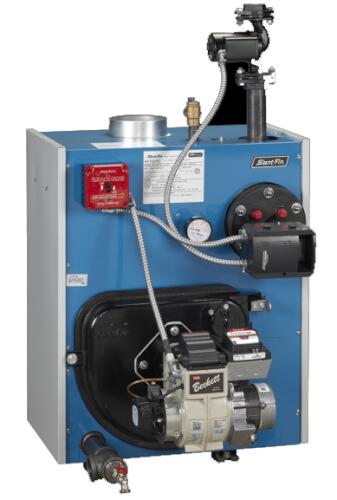 TR-50-2.10 223,000 BTU Packaged Intrepid Oil Water Boiler Product Image