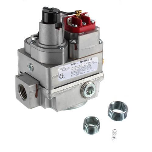 "1/2"" X 3/4"" Universal Gas Valve, 750 Mv Product Image"