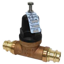 "3/4"" Pressure Reducing Valve No Union FNPT x Press (15 - 75 psig) Product Image"