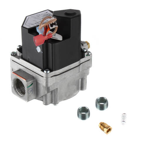 "3/4"" X 3/4"" Gas Valve, 24 VAC, Proven Pilot Valve, Electric On/Off Switch, Slow Opening Product Image"