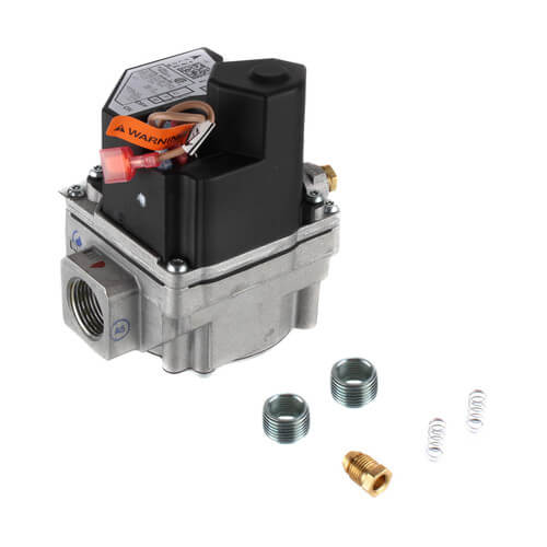 """3/4"""" 36H Two-Stage Gas Valve, Reducer Bushings (Two 3/4-inch to 1/2-inch), 24V, Natural Gas (Includes LP Conversion Kit) Product Image"""
