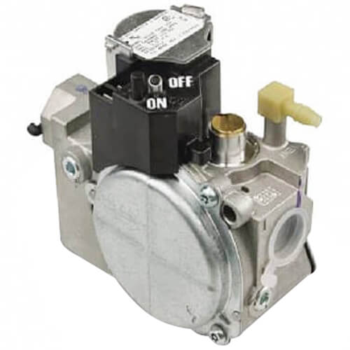 """Combination Gas Valve, 2 Stage, Slow Opening, LP gas conversion kit, Bottom outlet with 1/8"""" Product Image"""