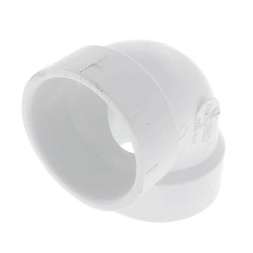 """14"""" PVC DWV 90° Vent Elbow Product Image"""