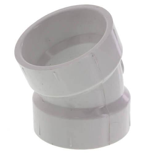 "10"" PVC DWV 22.5° Elbow Product Image"