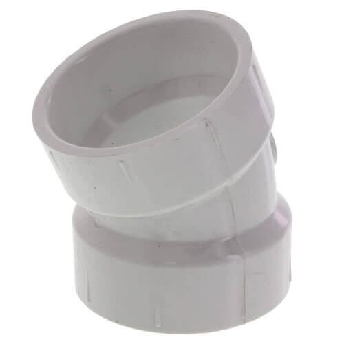 "12"" PVC DWV 22.5° Elbow Product Image"