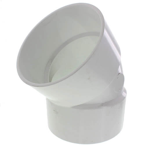 "14"" PVC DWV 45° Elbow Product Image"