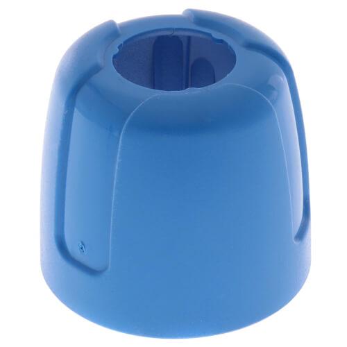 Plastic Flowmeter Cap (Blue) for LK Stainless Manifold Product Image