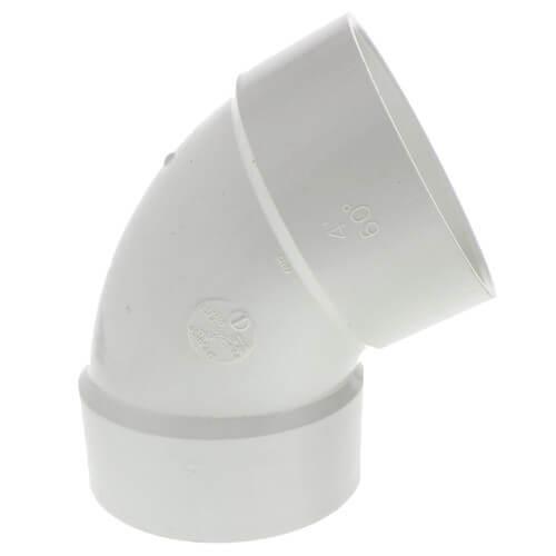 "6"" PVC DWV 60° Elbow Product Image"