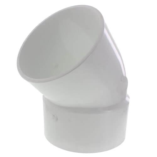 "10"" PVC DWV 45° Street Elbow Product Image"