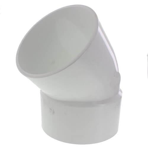 "12"" PVC DWV 45° Street Elbow Product Image"