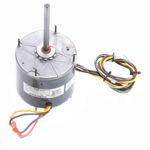 1 Speed Condenser Fan & Heat Pump Motor w/ Shaft Up/Down 1/3 HP, 1075 RPM (208-230V) Product Image
