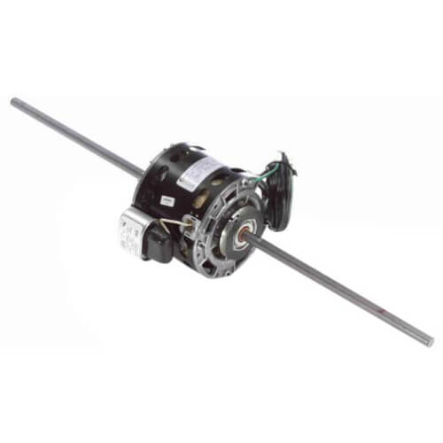 "5"" 2-Speed Double Shaft Fan/Blower Motor Less Base (115V, 1100 RPM, 1/30 HP) Product Image"