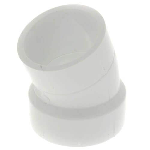 "10"" PVC DWV 22.5° Street Elbow Product Image"