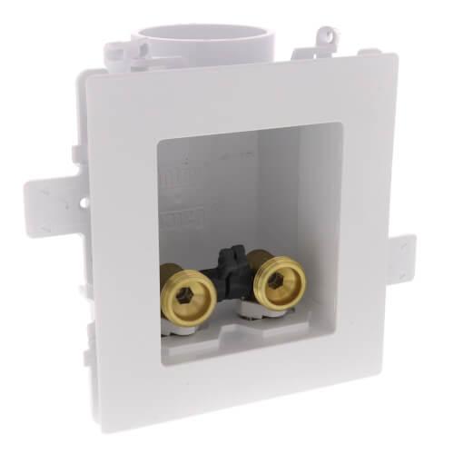 Moda Expansion PEX Washing Machine Outlet Box w/ No Hammer (Single Box) Product Image