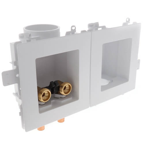 MODA Sweat Washing Machine Outlet Box, 1/4 Turn, Standard Pack Product Image
