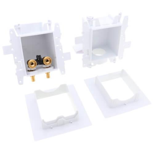MODA PEX Crimp Washing Machine Outlet Box, 1/4 Turn, Standard Pack Product Image
