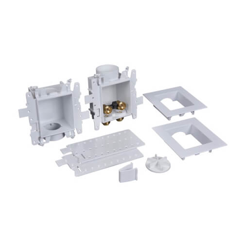 Moda Push Connect Washing Machine Outlet Box (Standard Pack) Product Image