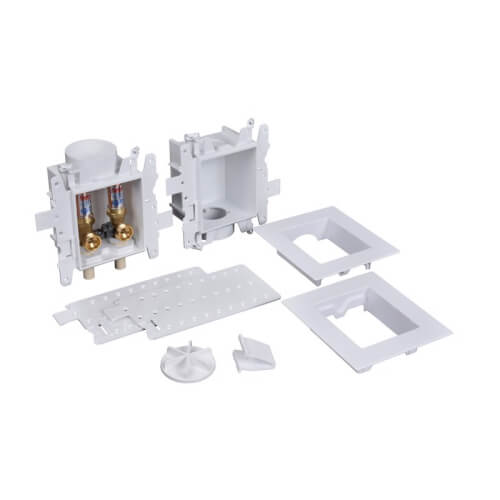 Moda CPVC (Male) Washing Machine Outlet Box w/ Water Hammer Arrestor (Contractor Pack) Product Image