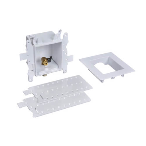 Moda CPVC (Male) Ice Maker Outlet Box w/ 1/4 Turn (Standard Pack) Product Image