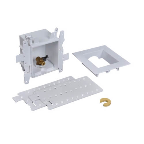Moda Push Connect Ice Maker Outlet Box w/ 1/4 Turn (Standard Pack) Product Image