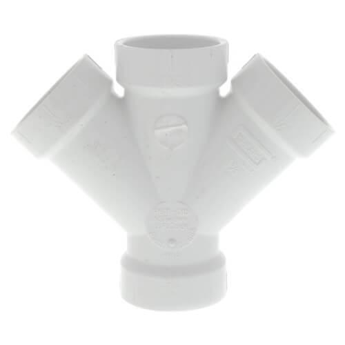 """10"""" PVC DWV Double Wye Product Image"""