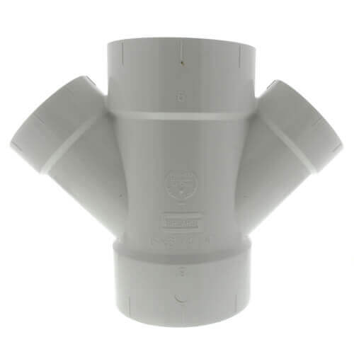 """16"""" x 6"""" PVC DWV Double Wye Product Image"""