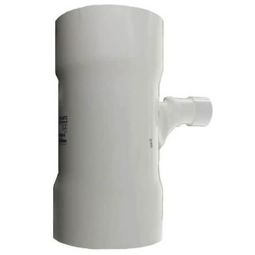 "8"" x 8"" x 2"" PVC DWV Sanitary Tee Product Image"