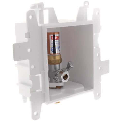 MODA 1-Valve Toilet/Dishwasher Supply Box w/ Water Hammer Arrestor  (Expansion PEX)