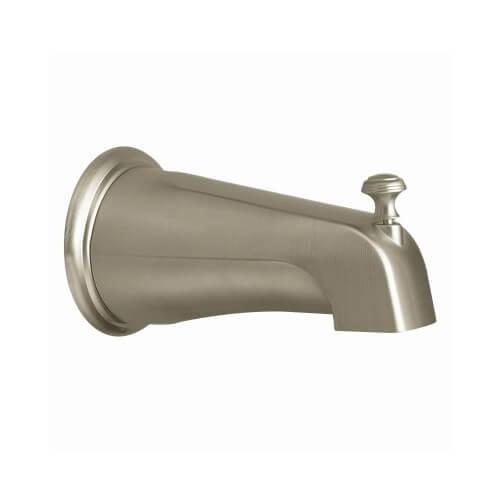 Brushed Nickel Diverter Spout Product Image
