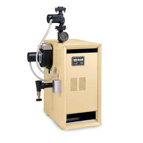 CGI-25 - 37,000 BTU Output Cast Iron Boiler, Spark Ignition (Nat Gas) Product Image
