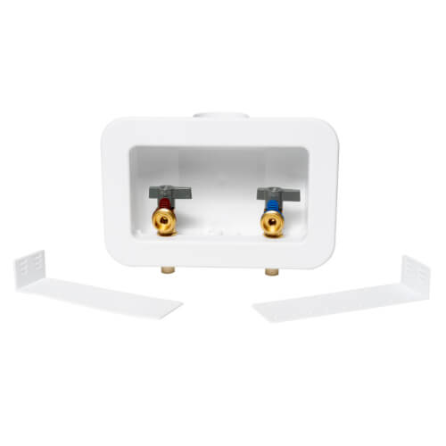 Centro II CPVC Assembled Washing Machine Outlet Box w/ 1/4 Turn (Standard Pack) Product Image