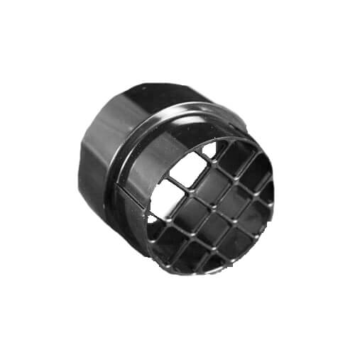 Inlet Air Fitting, plastic, with grill Product Image