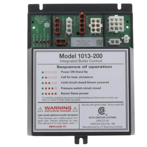 Integrated Boiler Control Unit (Includes UT Module 1013-200) Product Image