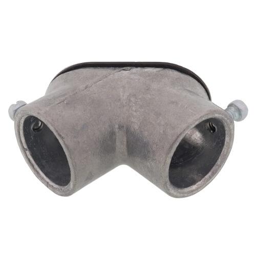 "3/4"" EMT/EMT Set Screw Zinc Pull Elbow Product Image"
