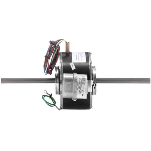 """5"""" 3-Speed Double Shaft Fan/Blower Motor Less Base (115V, 1625 RPM, 1/25, 1/40, 1/50 HP) Product Image"""