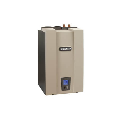 WM97+ 155 CT Series - 124,000 BTU Output Wall Mounted Boiler (NG or LP) Product Image