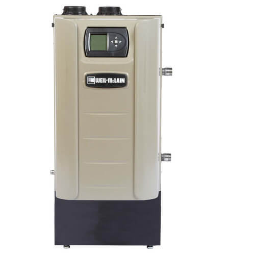 EVG 110 - 88,000 BTU Output Evergreen High Efficiency Condensing Gas Boiler (NG or LP) Product Image