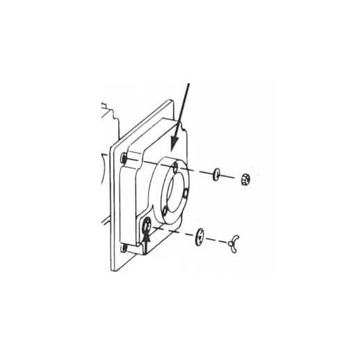 Burner Mounting Plate Assembly Product Image