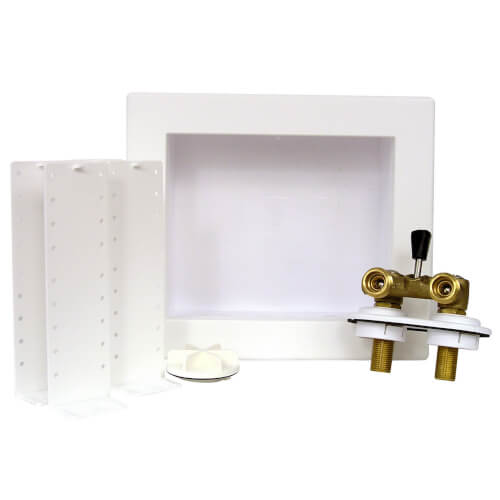 QUADTRO Washing Machine Outlet Box w/ Single Lever Ball Valve (Sweat) Product Image
