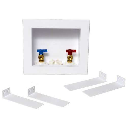 QUADTRO Washing Machine Outlet Box w/ Single Lever CPVC Valve (Standard Pack) Product Image