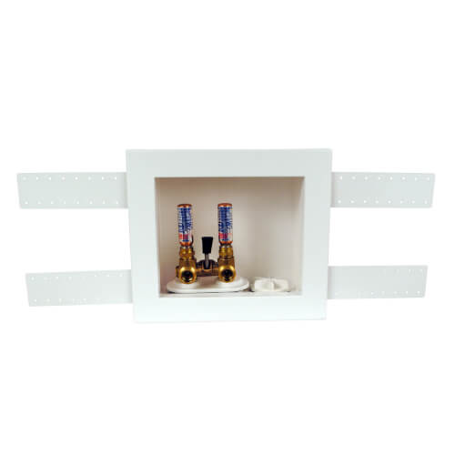 QUADTRO Washing Machine Outlet Box w/ Single Lever Copper Hammer Valve (Standard Pack) Product Image