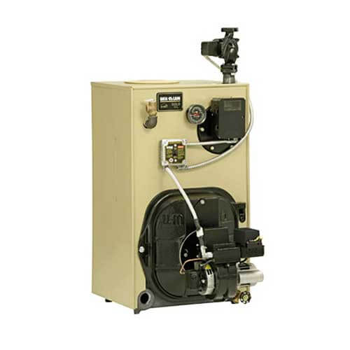 WTGO-3 100,000 BTU Output Gold Oil Boiler w/ Tankless Heater Product Image